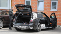 Mercedes-Benz C63 AMG Estate spied again