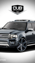 Ford showcases three Expeditions for SEMA