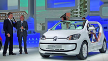 Volkswagen up! azzurra sailing team concept 14.09.2011