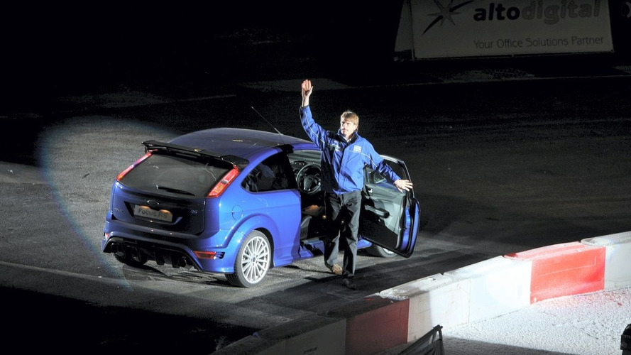 Ford Focus RS gets driving debut by 'Flying Finn' Marcus Grönholm in Wales