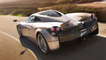 Special Pagani Huayra prototype filmed close-up on a small-town street in Italy [video]