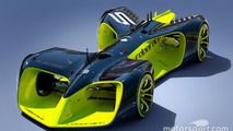 Driverless race car concept for Roborace