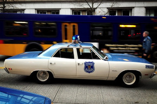 1970 Plymouth Satellite on Duty for Seattle Police Department