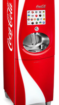 Coca-Cola Freestyle beverage dispenser, Pininfarina exhibition at London 2012 18.06.2012