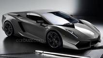 Lamborghini Cabrera digitially imagined