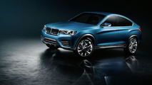 BMW X4 concept officially unveiled