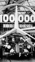 1958 100,000th Mercedes-Benz 180 D