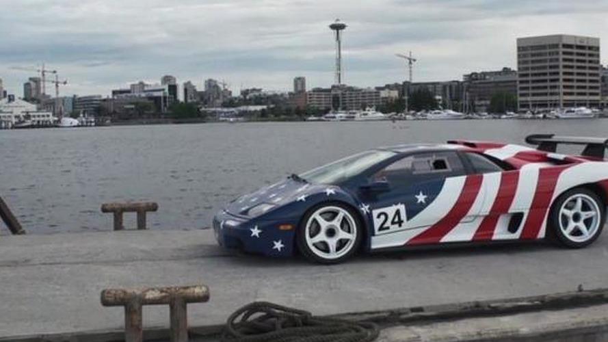Lamborghini Diablo SV-R - stars and stripes edition [video]