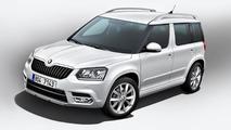 2014 Skoda Yeti facelift 14.08.2013
