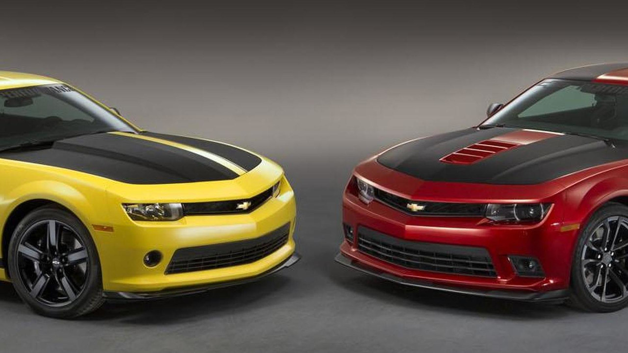 Chevrolet Camaro V6 and V8 Performance concepts for SEMA 04.11.2013