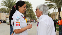 Ecclestone hints woman could succeed him