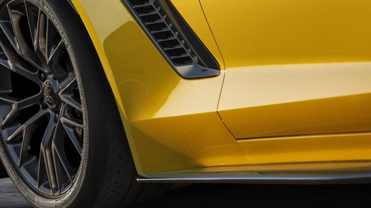 2015 Chevrolet Corvette Z06 teaser