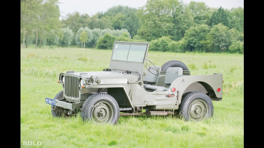 Ford GPW Military Jeep
