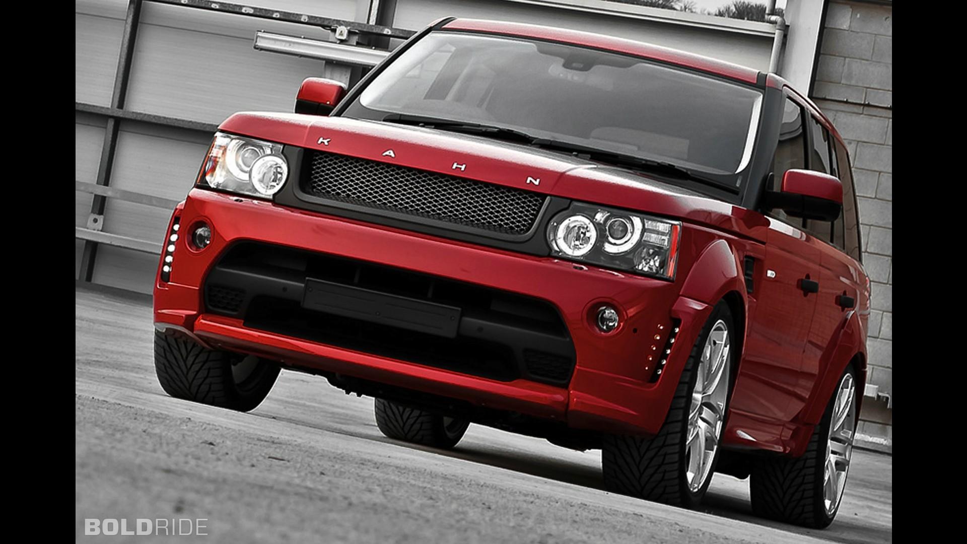 A. Kahn Design Range Rover Sport Red Ranger