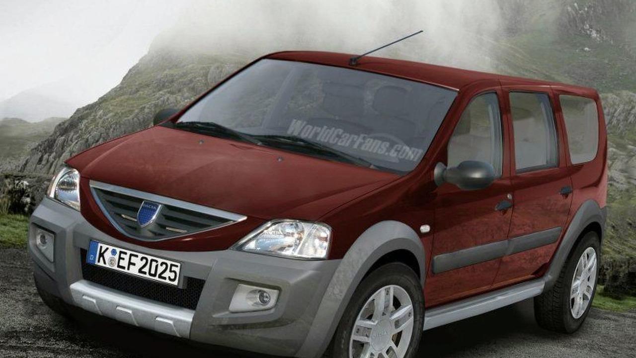 Dacia Logan Uproad - Artist Impression