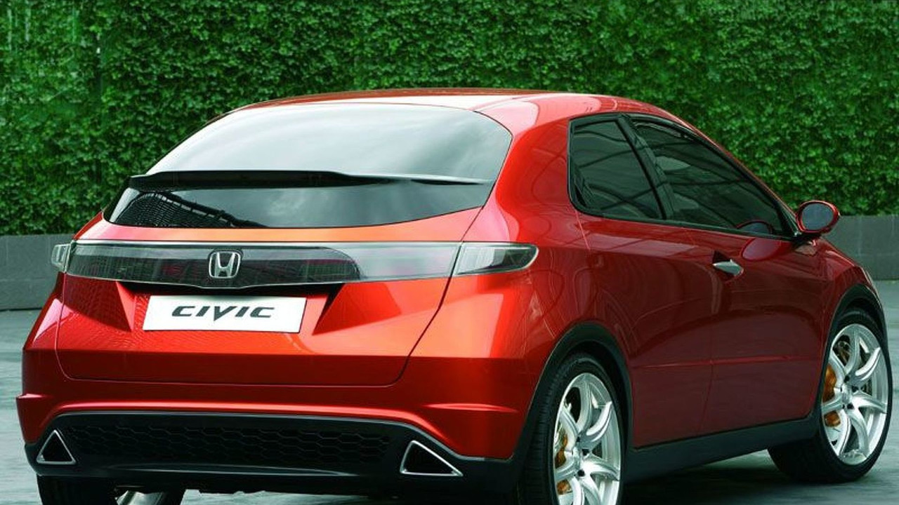 Honda Civic Concept at Geneva 2005