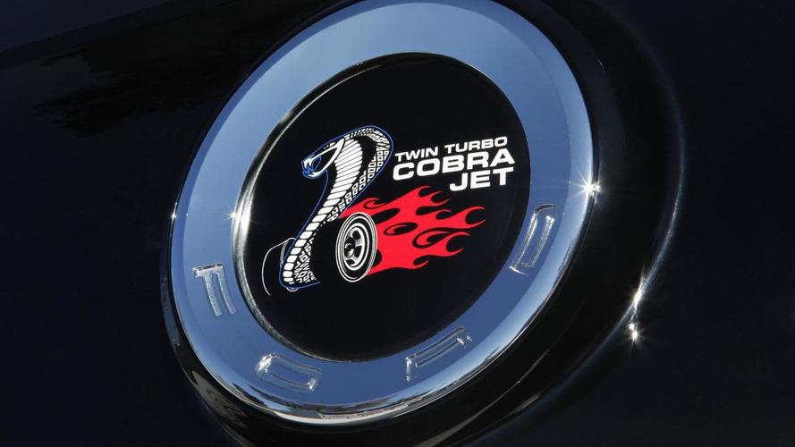 Ford Mustang Cobra Jet Concept presented at SEMA [video]