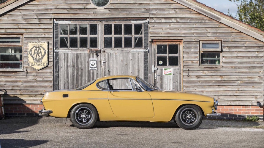 Original 1972 Volvo P1800E heading to auction