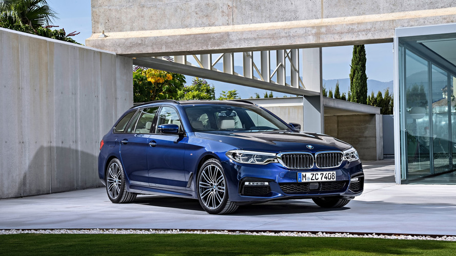 PHOTOS – La BMW Série 5 fait le break