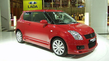 Suzuki Swift Sport Unveiled in Paris
