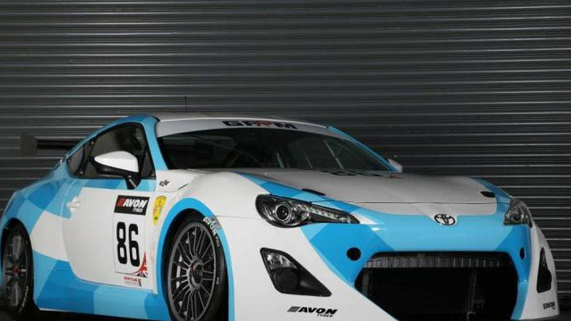 Toyota GT 86 GT4 racer unleashed