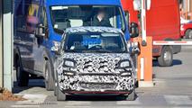 2017 Fiat Panda facelift spy photo