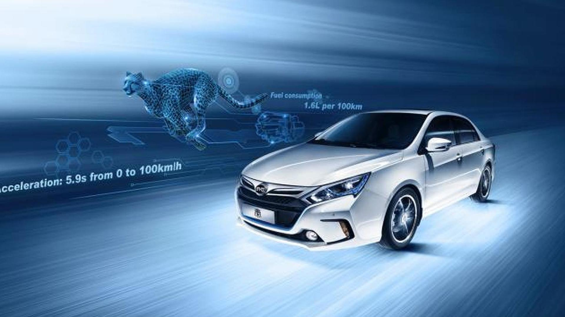 BYD Qin hybrid revealed, promises 177 MPGe and 5.9s sprint to 62 mph [video]