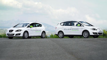 Seat Leon TwinDrive & Altea XL Electric Ecomotive - 11.11.2011