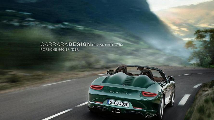 2014 Porsche 550 Spyder gets rendered and rumored