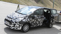 2013 Ford B-Max spied - interior too