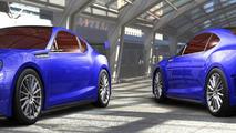 Subaru BRZ STI concept debuts in L.A. [video added]