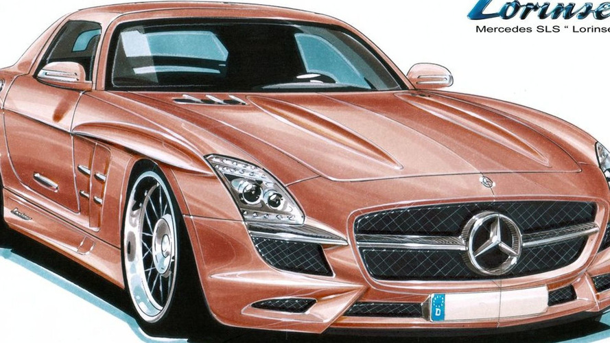 Lorinser Previews Mercedes SLS AMG Gullwing Tuning Studies