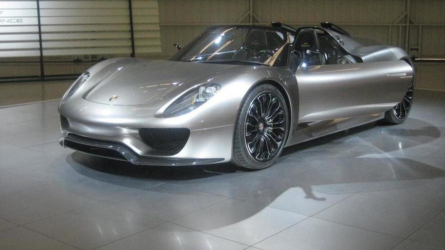 Porsche 918 production car will be a Spyder