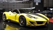 Mansory Siracusa based on Ferrari 458 Italia revealed in Geneva