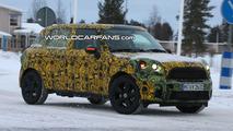 Mini Crossman SUV Winter Testing Spy Photo