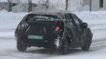 Latest 2011 Citroen C4 Spied Winter Testing