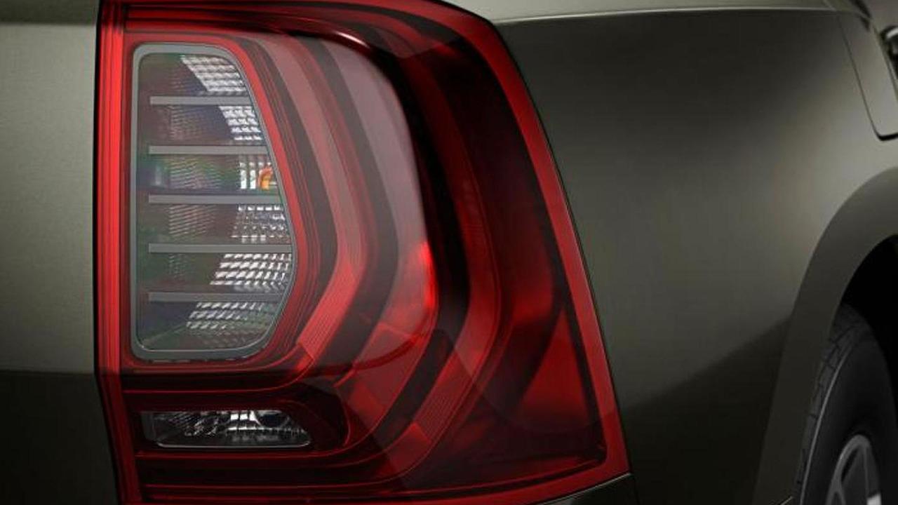 Renault Oroch production version teaser