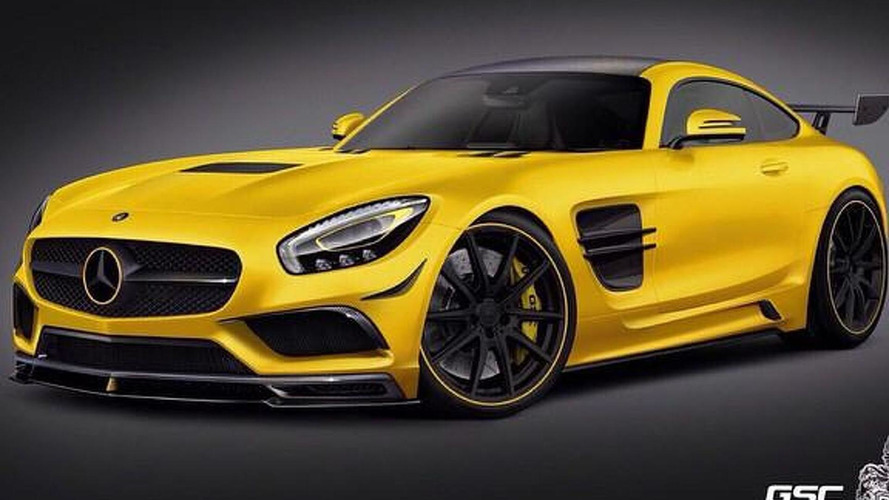 German Special Customs previews their Mercedes-AMG GT