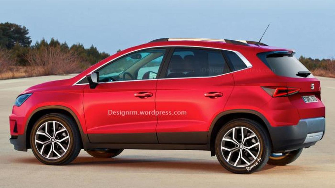 Seat subcompact crossover render