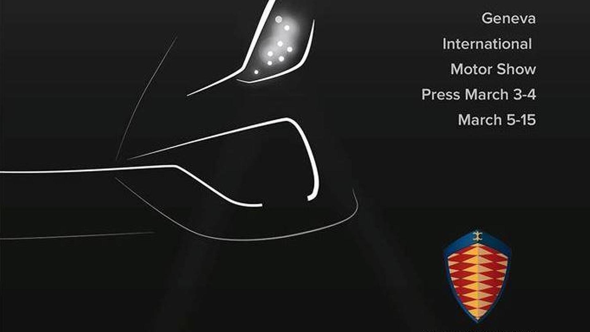 Koenigsegg Regera teased again