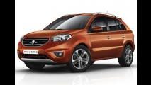 Renault Koleos de cara nova - Linha 2012 ganha facelift