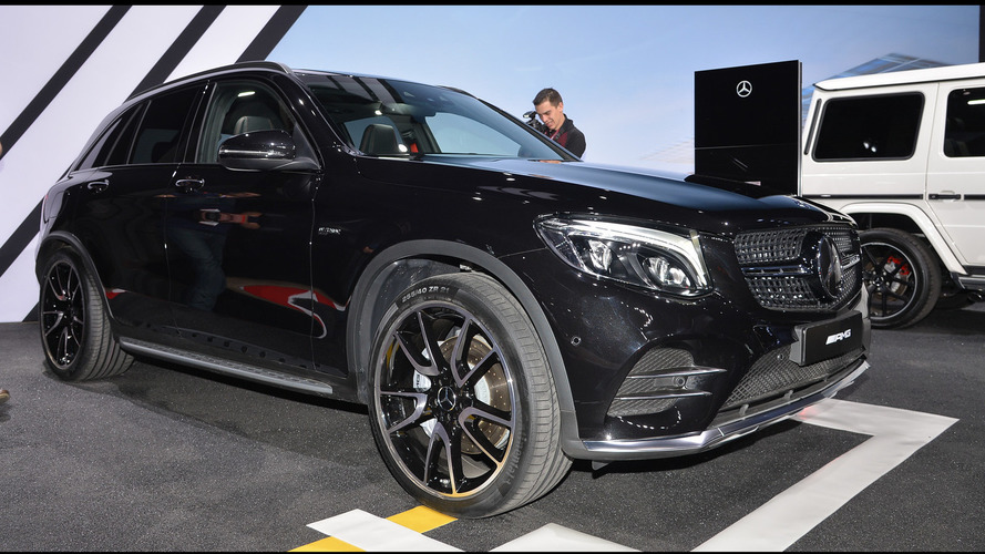Mercedes-AMG GLC43 arrives in New York with 362 hp