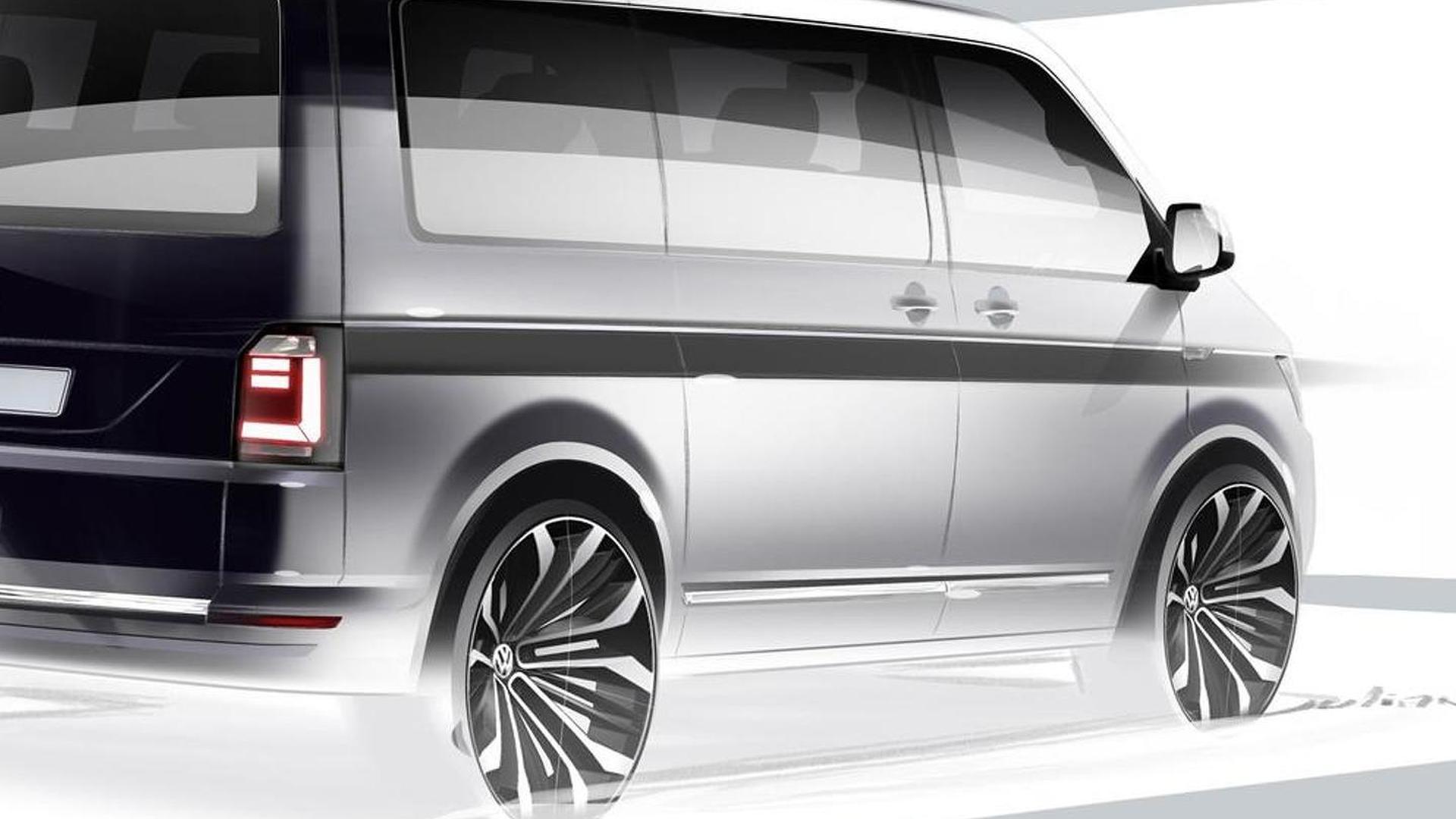 Volkswagen T6 teased prior to April 15 reveal