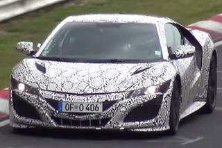 Watch The Acura NSX Tackle The Nürburgring Despite New Speed Limits