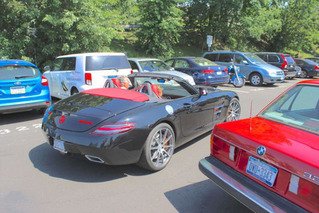 Greenwich Concours Parking Lot Is The Show Within The Show