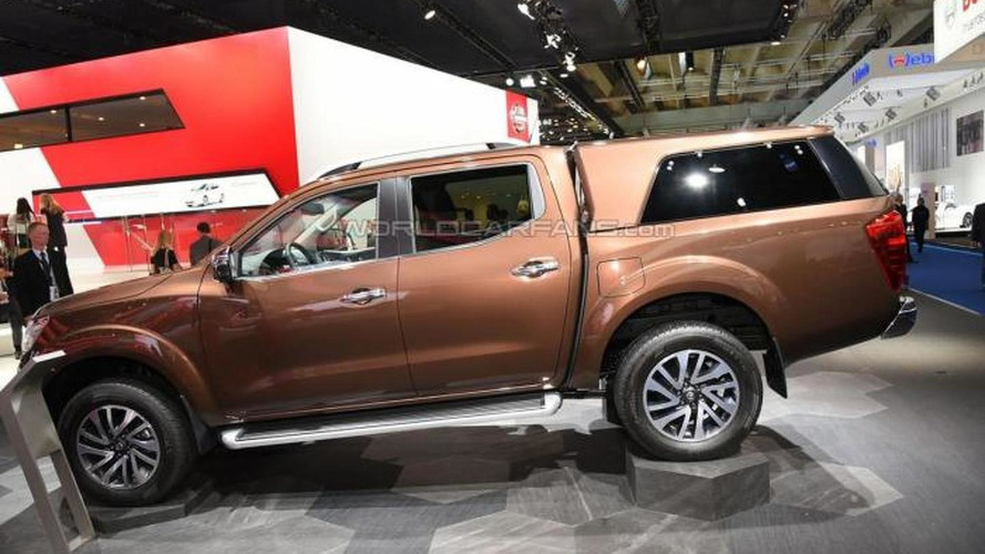 Nissan Navara NP300 puts on European clothing at IAA
