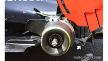 Red Bull Racing RB12 rear detail
