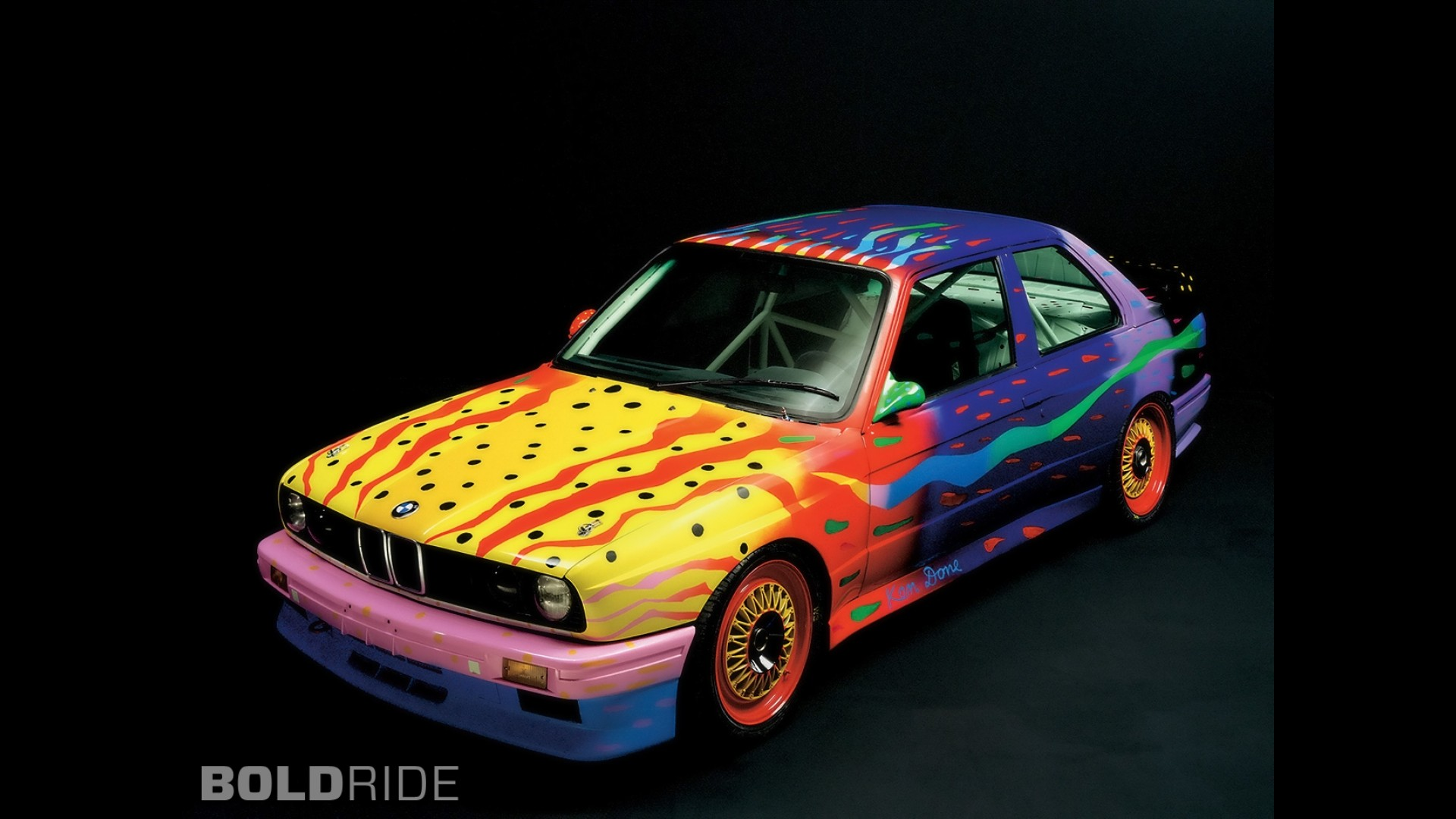 BMW M3 Ken Done Art Car