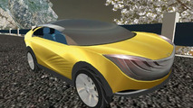 Mazda Hakaze Concept on Second Life
