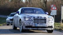 Rolls-Royce Wraith facelift spy photo